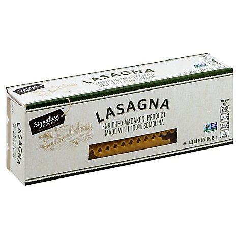 Signature SELECT Pasta Lasagna Box - 16 Oz
