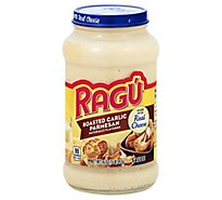 RAGU Cheese Creations Pasta Sauce Roasted Garlic Parmesan Jar - 16 Oz