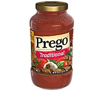 Prego Italian Sauce Traditional - 24 Oz