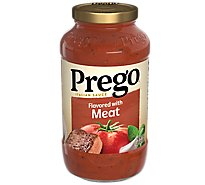 Prego Italian Sauce Flavored With Meat - 24 Oz