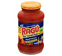 RAGU Old World Style Pasta Sauce Traditional Jar - 24 Oz