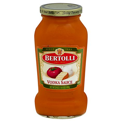 BERTOLLI Pasta Sauce Vodka Jar - 24 Oz