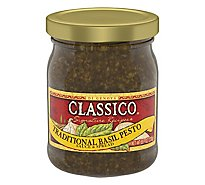 Classico Signature Recipes Sauce & Spread Traditional Basil Pesto Jar - 8.1 Oz