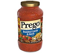 Prego Italian Sauce Roasted Garlic & Herb - 24 Oz