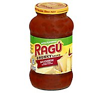 RAGU Cheese Creations Pasta Sauce Six Cheese Jar - 24 Oz