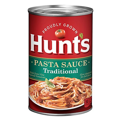 Hunts Pasta Sauce Traditional Can - 24 Oz