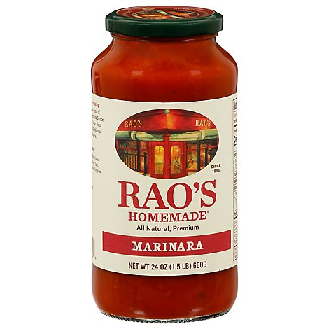 Raos Homemade Sauce Marinara Jar - 24 Oz
