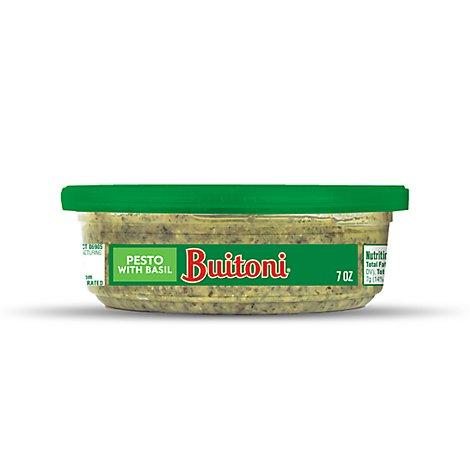 Buitoni Basil Pesto Pasta Sauce 7 Oz Safeway