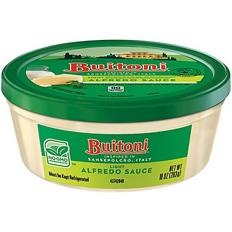 Buitoni Light Alfredo Pasta Sauce - 10 Oz