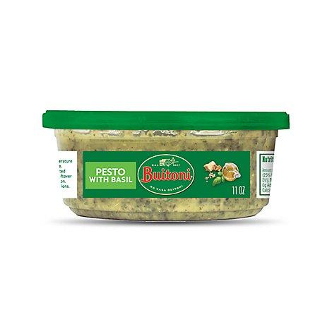 Buitoni Basil Pesto Pasta Sauce Family Size 11 Oz Safeway