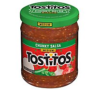 TOSTITOS Salsa Chunky Medium - 15.5 Oz