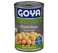 Goya Peas Chick Garbanzos Can - 15.5 Oz