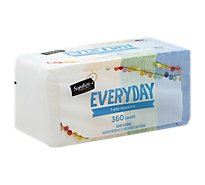 Signature SELECT/Home Napkins 1 Ply Everyday - 360 Count