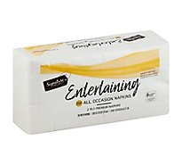 Signature SELECT Napkins 2 Ply Premium All Occasion - 200 Count