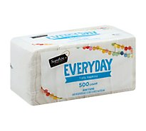 Signature SELECT/Home Napkins 1 Ply Everyday Wrapper - 500 Count
