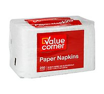 Value Corner Napkins 1-Ply Wrapper - 200 Count