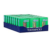 Diamond Party Picks Round Box - 250 Count