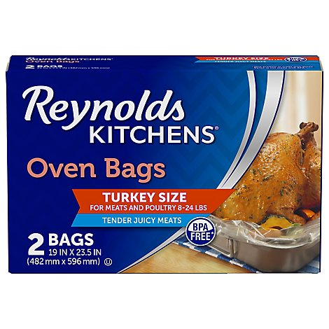 Reynolds Oven Bags Turkey Size - 2 Count