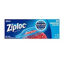 Ziploc Freezer Bags Gallon 28 ct