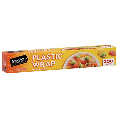 Signature SELECT Plastic Wraps Microwaveable 200 Sq. Ft. - Each