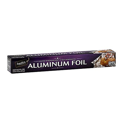 Signature SELECT Aluminum Foil 25 Sq. Ft. - Each