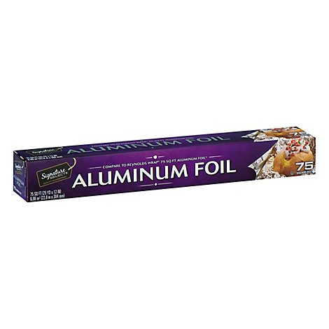 Signature SELECT Aluminum Foil 75 Sq. Ft. - Each