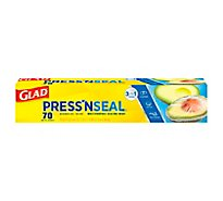 Glad Press n Seal Plastic Sealing Wrap Multipurpose 70 Sq. Ft. - Each