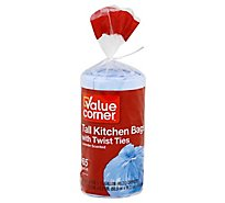 Value Corner Kitchen Bag Tall Lavender Scented - 65 Count