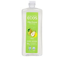ECOS Dishmate Dish Liquid Pear Bottle - 25 Fl. Oz.