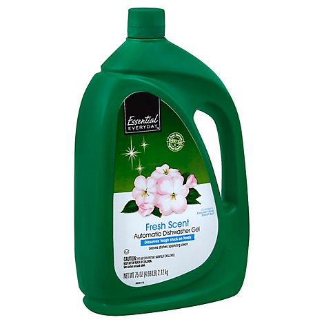 Signature SELECT Dish Detergent Gel Automatic Fresh Scent Jug - 75 Oz