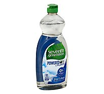Seventh Generation Dish Liquid Natural Free & Clear Bottle - 25 Fl. Oz.