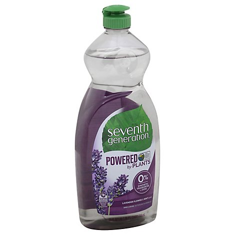 Seventh Generation Dish Liquid Natural Lavender Floral & Mint Bottle - 25 Fl. Oz.
