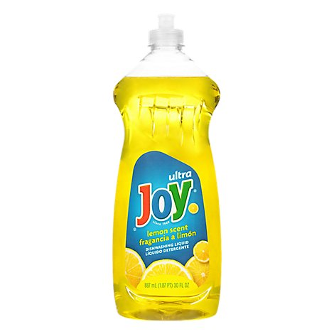 Joy Ultra Dishwashing Liquid Lemon Scent - 30 Fl. Oz..