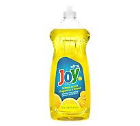 Joy Ultra Dishwashing Liquid Lemon Scent - 30 Fl. Oz.