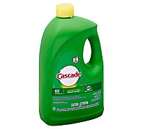 Cascade Dishwasher Detergent Gel Lemon Scent Jug - 155 Oz