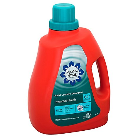 Signature SELECT Detergent Laundry Liquid Ultra Concentrated Mountain Fresh - 100 Fl. Oz.