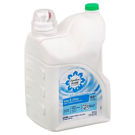 Signature SELECT Detergent Laundry Liquid Ultra Free & Clear Jug - 150 Fl. Oz.