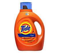 Tide Liquid Detergent HE Original Jug - 100 Fl. Oz.