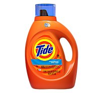 Tide Liquid Detergent HE Clean Breeze Jug - 100 Fl. Oz.