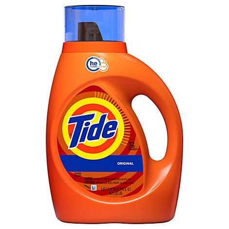 Tide Liquid Detergent HE Original Jug - 50 Fl. Oz.