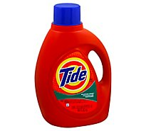 Tide Liquid Detergent Mountain Spring Jug - 100 Fl. Oz.