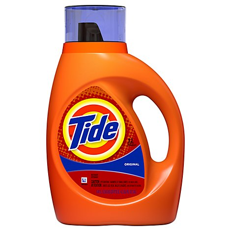 Tide Liquid Detergent Original Jug - 50 Fl. Oz.