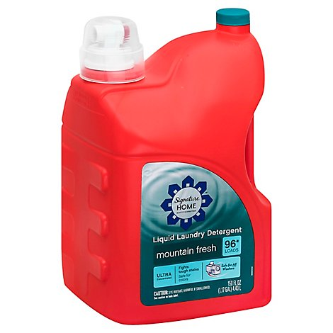 Signature SELECT Detergent Laundry Liquid Ultra Concentrated Mountain Fresh - 150 Fl. Oz.