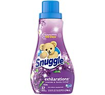 Snuggle Exhilarations Fabric Softener Liquid White Lavender & Sandalwood Box - 32 Fl. Oz.