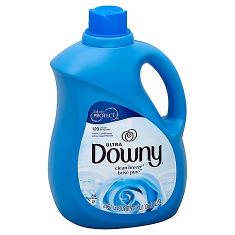 Downy Ultra Fabric Conditioner Liquid Clean Breeze 120 Loads - 103 Fl. Oz.
