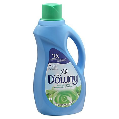 Downy Ultra Fabric Conditioner Mountain Spring - 51 Fl. Oz.