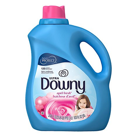 Downy Ultra Fabric Softener April Fresh Jug - 103 Fl. Oz.