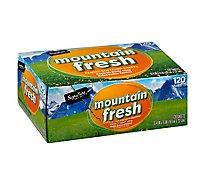 Signature SELECT Fabric Softener Sheets Mountain Fresh Box - 120 Count