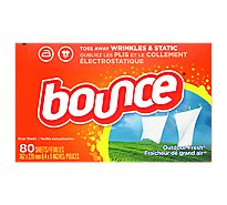 Bounce Fabric Softener Sheets Outdoor Fresh Box - 80 Count