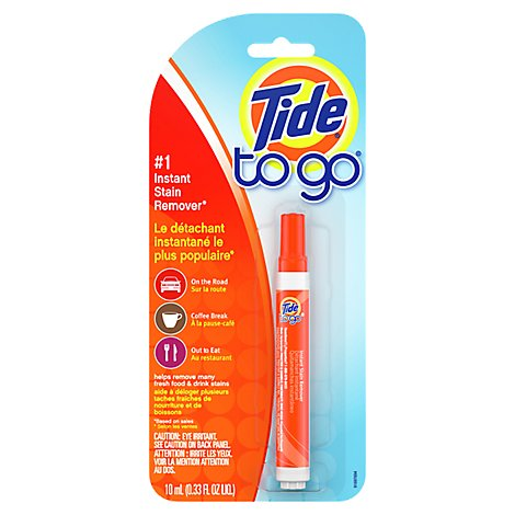 Tide To Go Stain Remover Instant - 0.33 Fl. Oz.